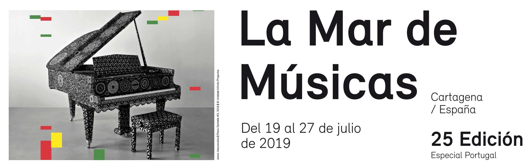 25ª edición de La mar de músicas 2019