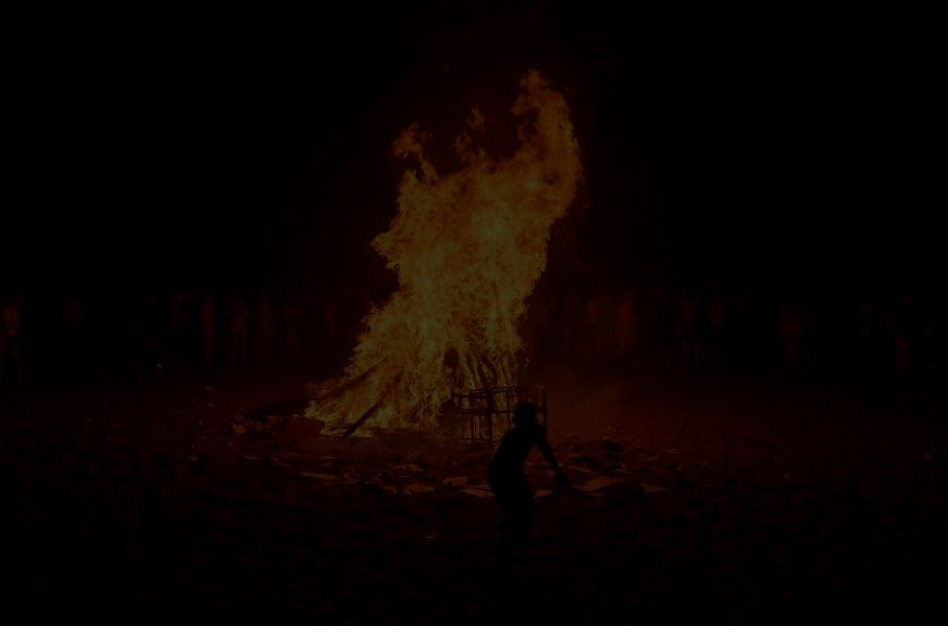 La Noche de San Juan, el papelito y El Vaca: Mamá, fuego