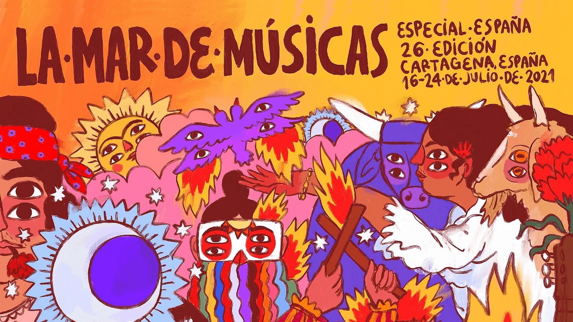 26ª edición de La mar de músicas 2021